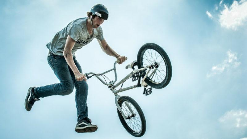 Le vélo BMX est apparu à la fin des années 60