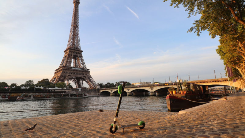 La trottinette électrique à la conquête de la France