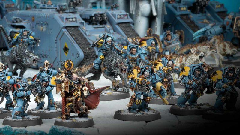 Se faire une armée de Space Wolves Warhammer 40k : Comment faire ?