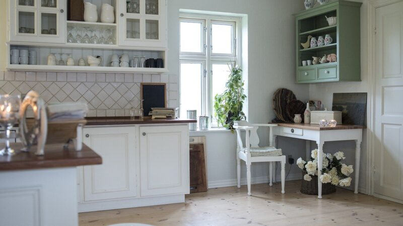 Comment choisir le vaisselier pour ranger vos affaires ?