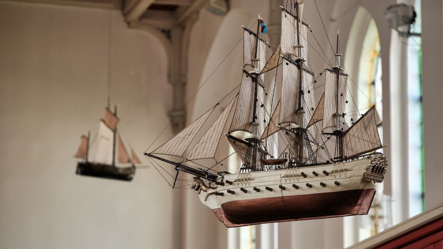 Une idée de décoration originale — Les maquettes de bateau haut de gamme